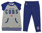 Majestic MLB Little Girls Chicago Cubs Cheer Loud Shirt & Leggings Set on Ebay