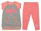 Majestic MLB Toddlers Baltimore Orioles Cheer Loud Shirt & Leggings Set on Ebay