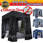 """Windproof Lightproof Anti-Glare"" 4 Four Corner Bed Curtain Canopy Mosquito Net image"
