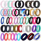 Kyпить Medical Grade Silicone Wedding Ring Men Women Flexible Rubber Engagement Band на еВаy.соm