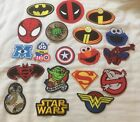 Iron on patches Marvel, DC, Star Wars & TV characters choose from 33 designs on eBay