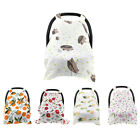 2in1 Nursing Scarf Cover Up Apron for Breastfeeding  Baby Car Canopy Cover