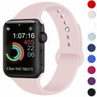 for Apple Watch iWatch Series 2 3 4 38/40/42/44mm Soft SILICONE Sport Strap Band