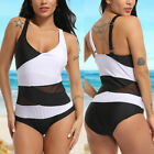 Womens One Piece Monokini Swimsuit Swimwear Beachwear Push Up Bathing Bikini
