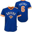 NWT 50$ BOYS New York Knicks Kristraps Porzingis Jersey Tee Shirt Blue on eBay