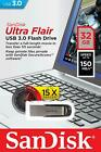 SanDisk Ultra Flair USB 3.0 16GB 32GB 64GB 128GB Flash Drive Thumb Stick Memory <br/> 100% Genuine Sandisk - Guaranteed!
