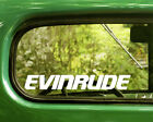 Home Decorative Led Lighting 2 EVINRUDE BOAT OUTBOARD MOTORS DECALs Sticker Bogo For Car Window Bumper Truck Home Decorating With Origami