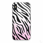 ZEBRA PRINT PHONE CASE PINK FADE ANIMAL HARD COVER FOR APPLE SAMSUNG HUAWEI?