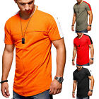 Fashion Men's Short Sleeve Slim Fit Blouse T-Shirt Summer Casual Muscle Tee Tops image