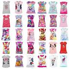 Girls/Kids Nightie Nightdress Disney Character Childrens Pyjamas Age 2-8 Years image