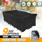9 Size Heavy Duty Waterproof Outdoor Garden Patio Furniture Cover Table