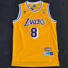 Kobe Bryant #8 Los Angeles Lakers Vintage Yellow Throwback Basketball Jersey Men on eBay