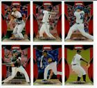 2019 Panini Prizm Baseball RED PRIZM You Pick ALBIES ARENADO SPRINGER LINDOR +++