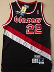 New Clyde Drexler Portland Trail Blazers Throwback Swingman Jersey Black  S-XXL