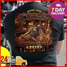 Harley Davidson T Shirt 2018 STURGIS T-Shirt Black Cotton Men Full Size $21.99 USD on eBay