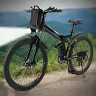 26inch MTB 36V Foldable Electric Power Mountain Bicycle with Full Suspension Men