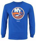 Reebok NHL Men's New York Islanders Royal Blue Long Sleeve Shirt $12.99 USD on eBay