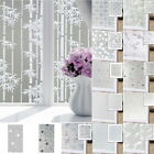 Self-Adhesive Sticker Tile Glass Window Film Privacy Frosted Home Bathroom Decor