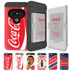 Skinu Coca Cola Card Protect Shockproof Hard Dual Bumper Cover Case For LG G6 G7 $28.5  on eBay
