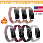 For Fitbit Inspire & Inspire HR Stainless Steel Milanese Replacement Wrist Bands image