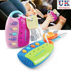 Car Key Toy Remote Control Educational Toy Key For Kids Baby Toddler No Battery