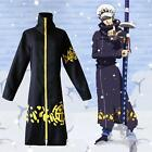 Anime Black Cloak Cape Jacket One Piece Trafalgar Law,Coat Cosplay Party Costume