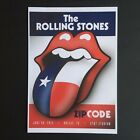 Rolling Stones ZIP CODE Tour Prints 35 Designs - NOT NO FILTER / 14 ON FIRE