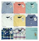 Polo Ralph Lauren MENS SHORT SLEEVE Oxford Standard Fit Shirt