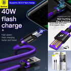 Samsung Galaxy Note10 S10 Plus S9 USB Type C 5A FAST Charging Charger Cable Cord