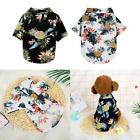 Внешний вид - Pet Puppy Summer Hawaiian Style Shirt Dog Cat Pet Kitten Clothes Vest T Shirt
