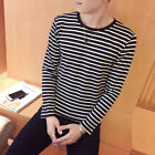 Casual Tops T-Shirt Loose Beach Hoiliday Home Summer Men New Male Round Neck