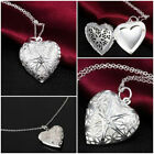 HEART LOCKET PHOTO Pendant NECKLACE Choker charm Fashion Women Chain Jewelry