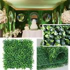 Artificial Boxwoods Hedge Fake Vertical Garden Green Wall Ivy Fence Mats 2 Sizes