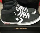 NEW Converse Cons Star Street Mid Men's 13 Black White Leather 141652C