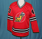 MARC TARDIF MICHIGAN STAGS WHA HOCKEY JERSEY 1970s SEWN NEW ANY SIZE