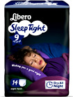 Libero Sleep Tight Diapers Briefs Absorbent Night da 22 in 132.3lbs
