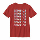 Lost Gods Fourth of July America Repeat Boys Graphic T Shirt
