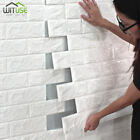 Wall Stickers Panel Wallpaper 3d Soft Pe Foam Diy Brick Stone Home Office Decors