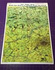 Battle of Ypres • Daily Mail Bird's Eye View Map • WW1 •  A3 A2 A1 sizes