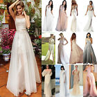 Womens Summer Long Maxi Dress Bridesmaid Prom Ball Gown Wedding Party Evening US $20.32 USD on eBay