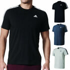 Adidas Men's Short Sleeve Linear 3 Stripe Essential T-Shirt image