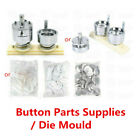 300PCS Pin Button Parts Supplies / Round Die Mould Mold for Badge Maker Machine
