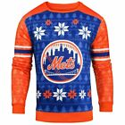 Forever Collectibles MLB Men's New York Mets Printed Ugly Sweater on Ebay