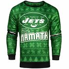 NFL Men's New York Jets Joe Namath #12 Retired Player Ugly Sweater $49.99 USD on eBay