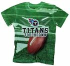 Tennessee Titans TOUCHDOWN NFL Youth T-Shirt Shirt, Green $8.99 USD on eBay