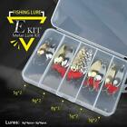 Mixed Colors Fishing Lures Spoon Bait Set Metal Lure Kit Sequins DD Fishing Lure