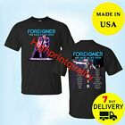 New Tour Dates 2019 Foreigner Cold As Ice Tour T-Shirt All Size 2 Side Tee image