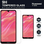 2PCS For HUAWEI Y5 Y6 Y7 Pro Y9 2019 2018 Tempered Glass Screen Protector CA LY