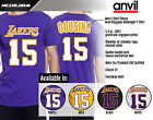 DeMarcus Cousins Los Angeles Lakers #15 Jersey Inspired Men's Graphic-T on eBay