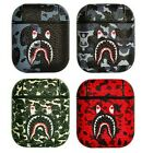 BAPE A BATHING APE SHARK CAMO CASE COVER FOR APPLE AIRPODS WATERPROOF *UK STOCK* <br/> ✅ UK STOCK! BUY WITH CONFIDENCE, LUXURY QUALITY! ✅
